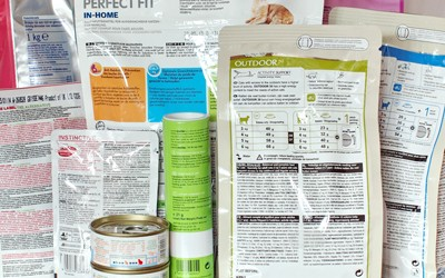 Kattenvoer etiketten: De wettelijke eisen